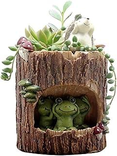 Little Nursery Rhyme Hedgehog Classroom Brown Bear Family Flowerpot (B4)