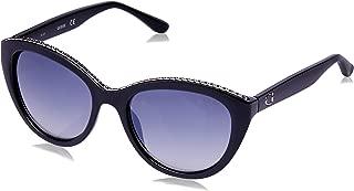 Guess Women's Fashion Sun GU 7505 01C Sunglasses, Grey, 54 mm