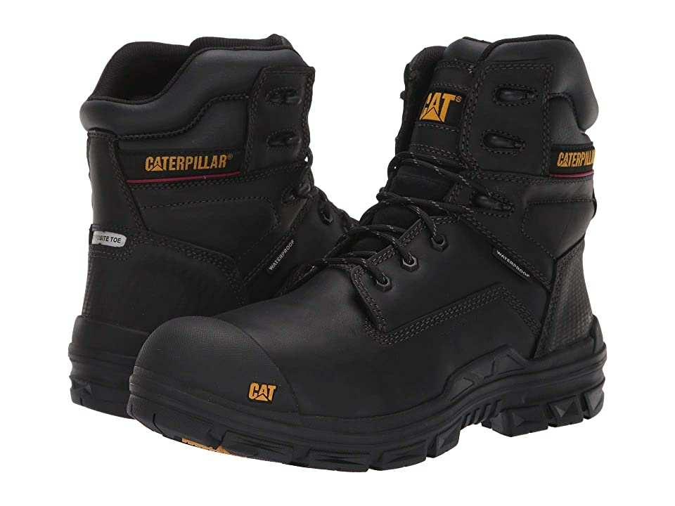 Caterpillar Crossbar Nano Toe WP (Black) Men
