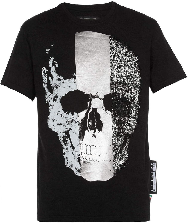 Philipp Plein - Herren T-Shirt 'Skull' - Platinum Cut Schwarz