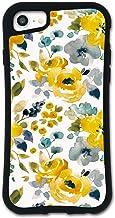 iPhone SE 第2世代 ケース iPhone8 ケース iPhone7ケース どこでもくっつくケース WAYLLY(ウェイリー) iPhone6sケース iPhone6ケース 着せ替え 耐衝撃 米軍MIL規格 [フラワー イエロー] セッ...