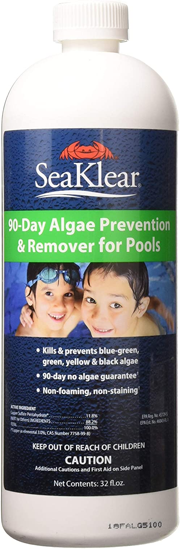 SeaKlear Seasonal Wrap Introduction 90-Day Gorgeous Algae Prevention 1 Qt Remover