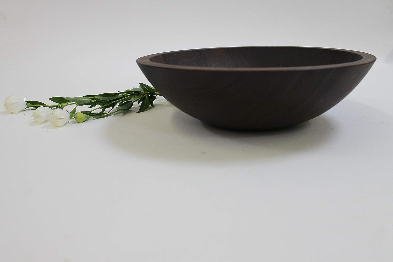 12 inch Max 47% OFF Solid Walnut Wood - Fashion Mill Holland Salad Bowl