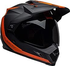 Bell MX-9 Adventure MIPS Full-Face Motorcycle Helmet (Switchback Matte Black/Flo Orange, Small)