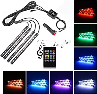 car interior led lighting multicolor