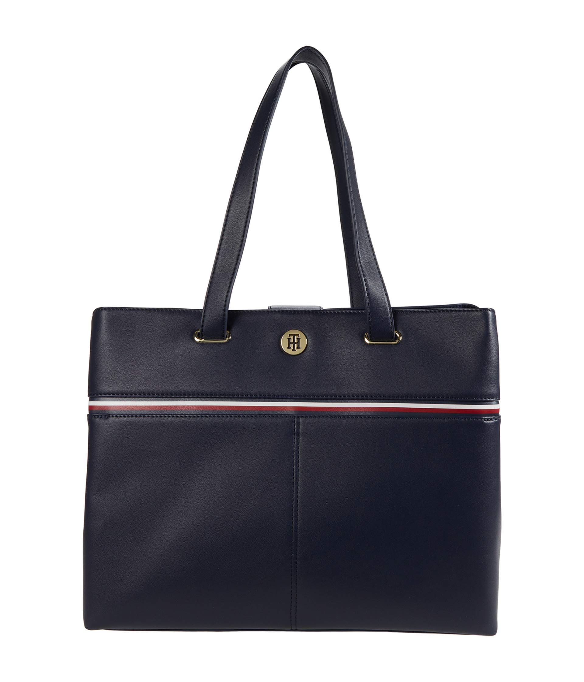 Tommy Hilfiger Tommy Hilfiger Brynn International Tote Smooth Grain PVC