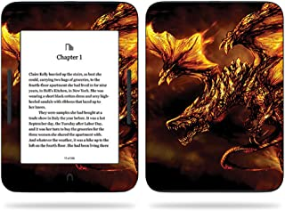 MightySkins Skin Compatible with Barnes & Noble Nook GlowLight 3 (2017) - Golden Dragon | Protective, Durable, and Unique Vinyl Decal wrap Cover | Easy to Apply, Remove | Made in The USA