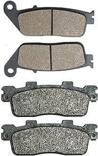 2 Pads Delantero Disco Pastillas de Freno Semi-Met fit for Street Bike GS500 GS500E GS 500 E GM51B F114 89 90 91 92 93 94 95 1989 1990 1991 1992 1993 1994 1995 1 Pair
