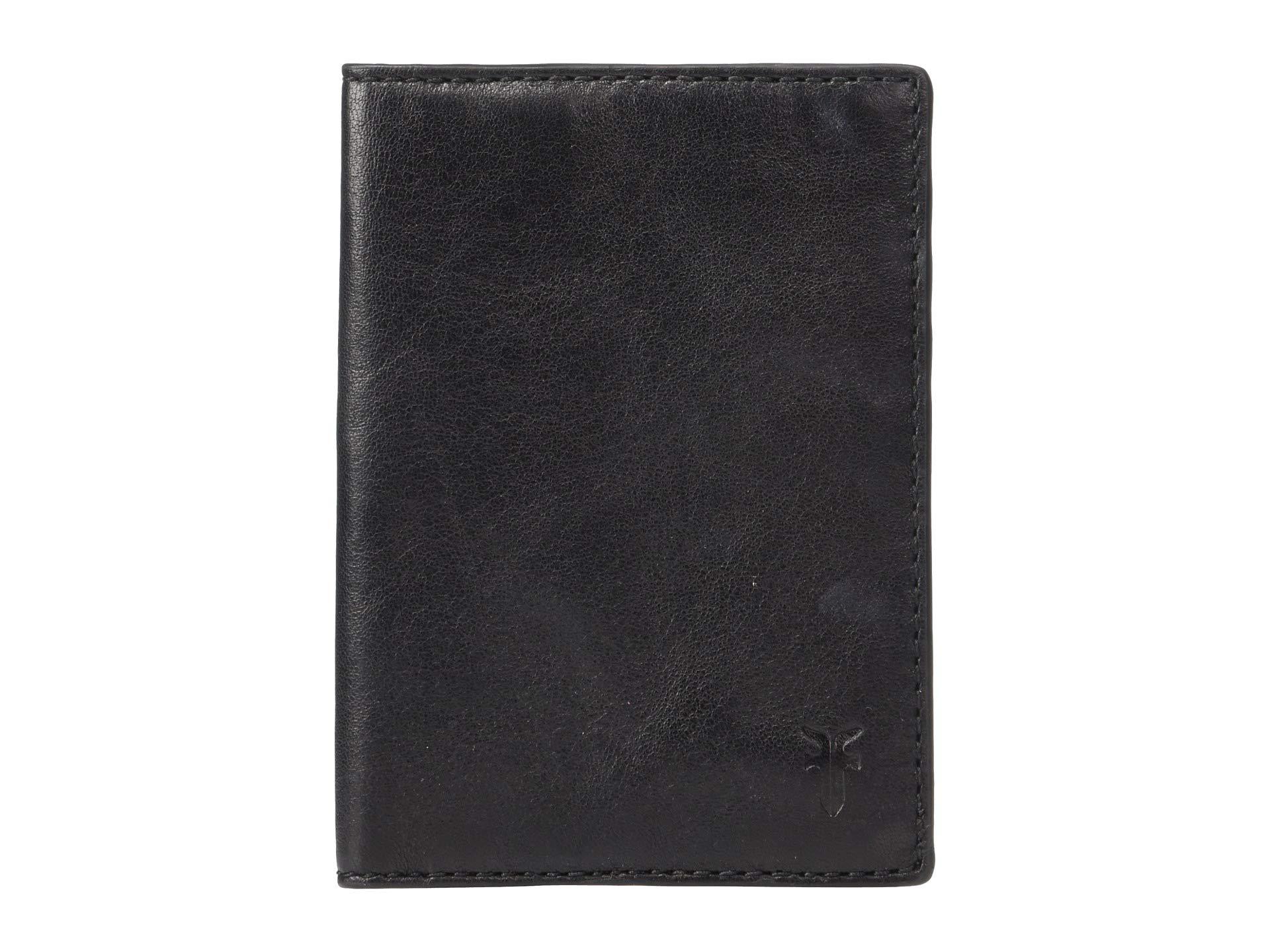 Veg Tan Passport Case Frye Sheep Black 6xY8qO