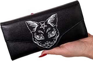 Gothic Pentagram Witch Cat Nemesis Wallet from Banned Apparel