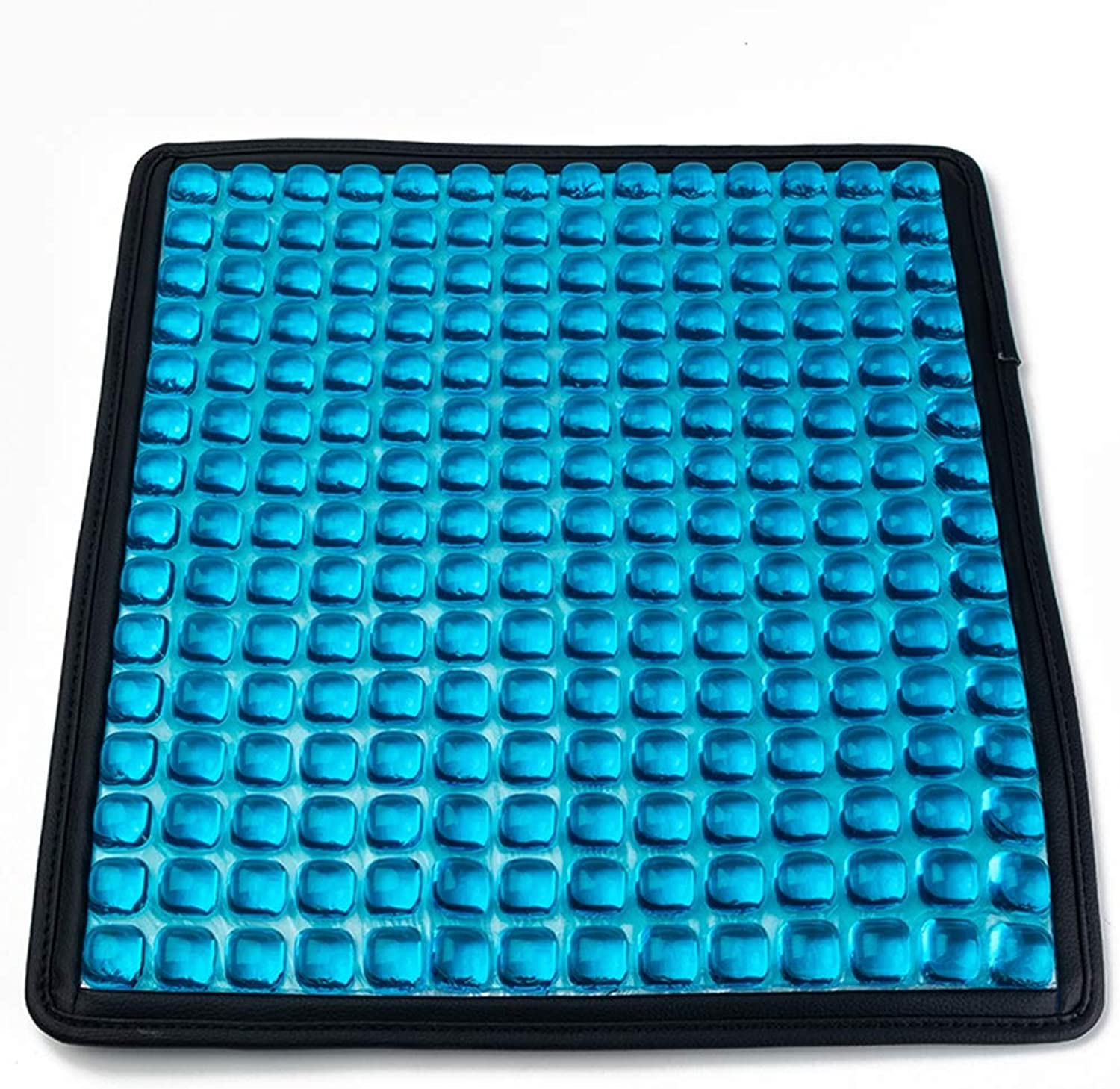 Summer Orthopedic Gel Seat Ice Cushion - No Water Injection, Suitable for Lower Back, Tailbone and Sciatica - Portable Seat Cushion for Office, Home, Car, Wheelchair,bluee,B