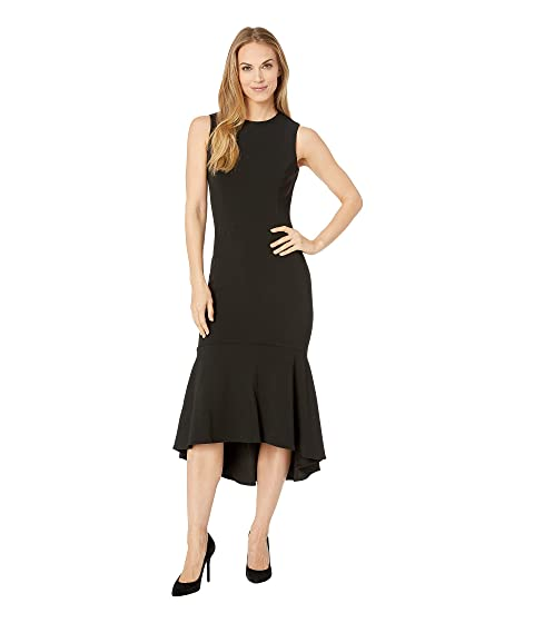 93562c14a20 Calvin Klein Ruffle Hem Midi Dress CD9C15BJ at Zappos.com