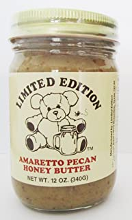 Limited Edition Amaretto Pecan Honey Butter - 12 Ounce