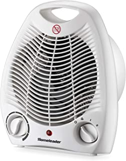 Homeleader 2-Speed Space Heater, Portable Fan Heater with Thermostat, Tabletop/Floor Ceramic Heater for Office&Small Space NSB-200AT