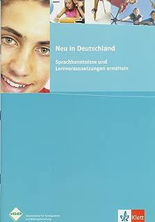 Neu in Deutschland: Sprachkenntnisse und Lernvoraussetzungen ermitteln