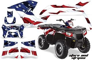 AMR Racing Graphics Kit for ATV Polaris Sportsman 500/800 and Hawkeye 400 2011-2015 STARS AND STRIPES