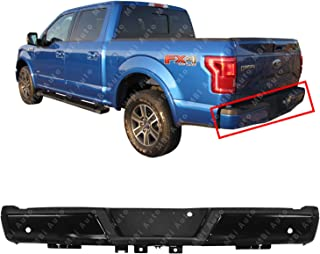 MBI AUTO - Primered, Steel Rear Step Bumper Assembly for 2015 2016 2017 2018 Ford F150 w/Park Assist & w/Out Tow Hitch 15-18, FO1103194