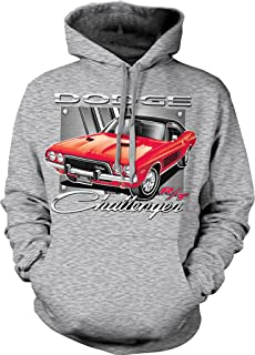 NOFO Clothing Co Dodge Challenger R/T, American Muscle Hooded Sweatshirt
