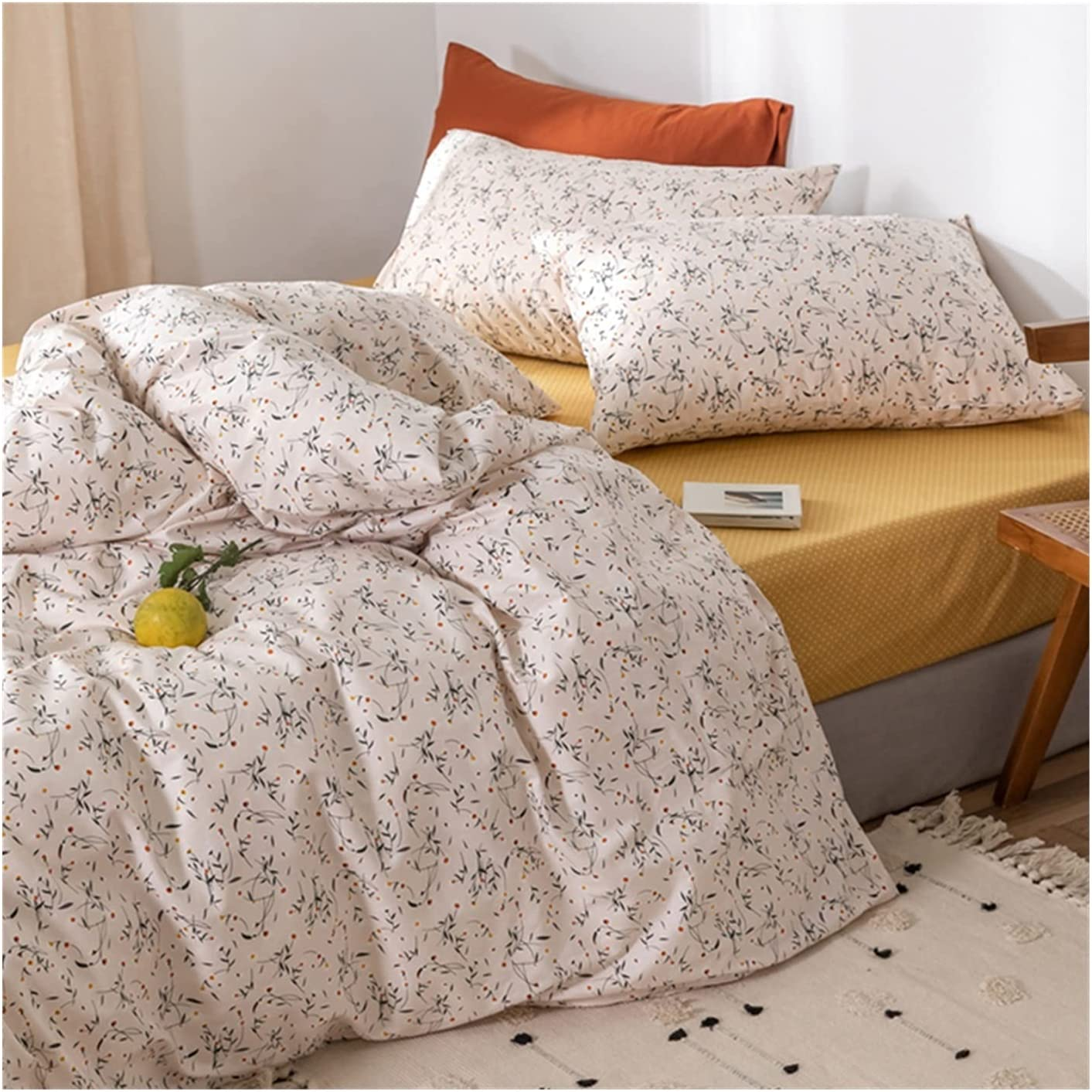 Ranking TOP12 MZP Quilt Duvet Cover Set with Queen 4pcs Bed Fitted Full Sales of SALE items from new works Sheets