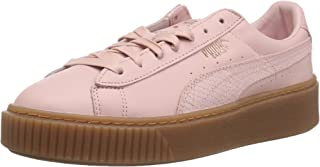pink and gold sneakers