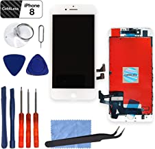 Screen Replacement Compatible with iPhone 8 (4.7 inch) by CELL4LESS -3D Touch LCD Screen Digitizer Replacement Includes Digitizer, Screen and Tool Set