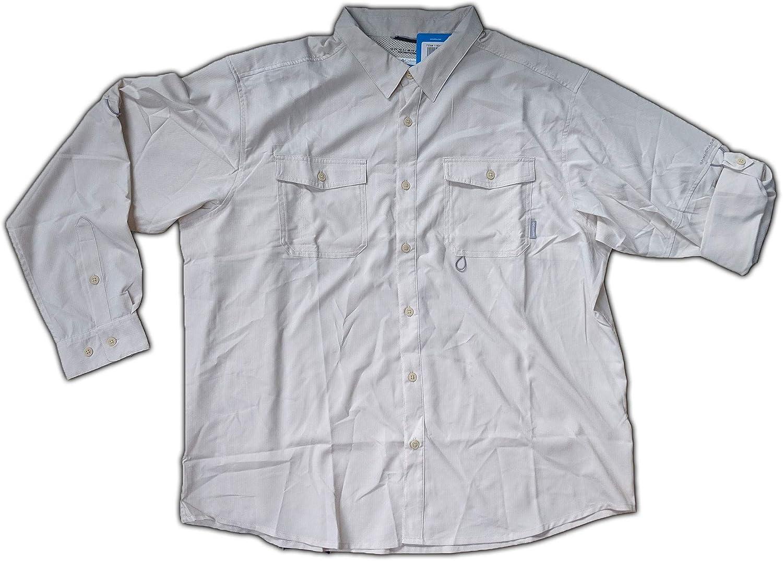 Columbia Men's Indianapolis Mall Jacksonville Mall Omni-Shade Long Shirt Roll-tab Sleeve