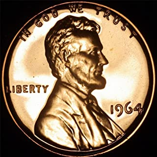 1964 Lincoln Memorial Penny Cent Gem Proof US Mint