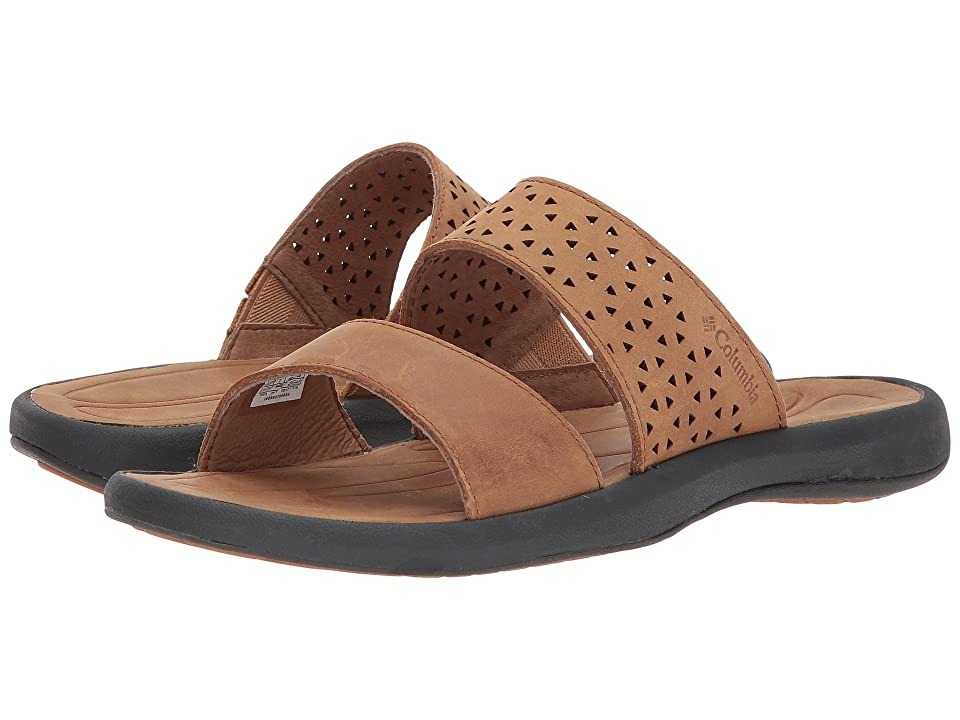 Columbia Caprizee Slide II Nubuck (Elk/Dark Grey) Women