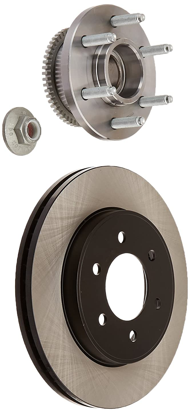Centric Parts 120.65128 Premium Brake Rotor with E-Coating