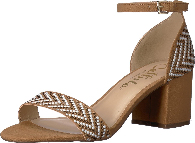 Callisto Womens Mercer Heeled Sandal