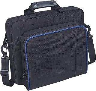 Cabilock Bolsa de viagem para controles de console, jogos, bolsa de mensageiro portátil, bolsa organizadora compatível com...