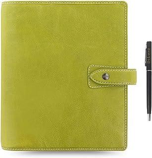 $149 » Filofax Malden Leather Organizer Agenda Calendar Bundle with DiLoro Ballpoint Pen (Pear 2020-2021 with Pen, A5 Paper Size ...