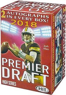 2018 Sage Hit Premier Draft High Series Football Blaster Box