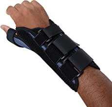 Sammons Preston Thumb Spica Wrist Brace, Thumb Splint, Wrist Splint for Wrist Support, Wrist Brace, Thumb Brace for CMC & MC Joints, Wrist Spica, Thumb Spica, Thumb Support, Left Hand, Medium