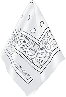 Amscan Bandana, Party Accessory, White