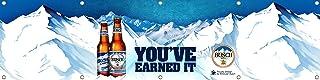 Dimike Busch Beer Can Busch Beer Camo Busch Beer Mountains Busch Beer Flag 2x8ft Banner