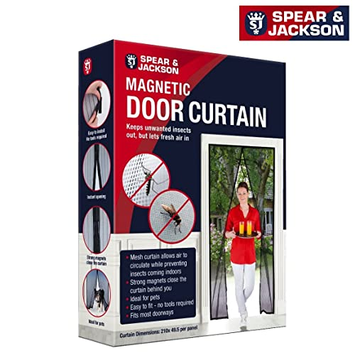 Door Fly Screen Curtain Amazon Co Uk