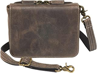 Concealed Carry Purse - Leather Crossbody Organizer by GTM