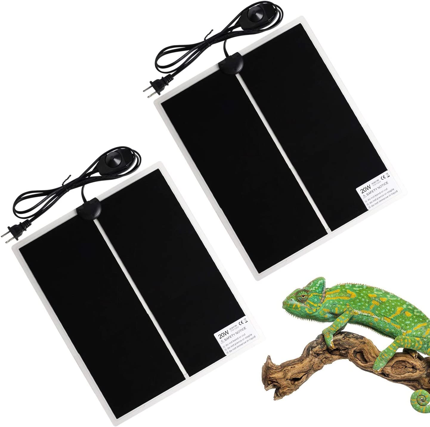 FIVEAGE 20W 16.5 Inch OFFicial shop x 11 Heating with Reptile New arrival Warmer Pad