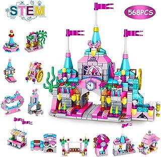 VATOS Girls Building Blocks Set Toy, 568pcs Princess...