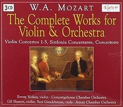 Mozart Sinfonia Concertante K.364 For Violin & Viola G.Sharon & Y.Gandelsman W.Amati Chamber