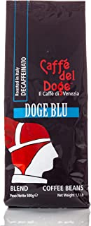 Coffee Beans Del Doge Blu (Decaffeinated) From Venice