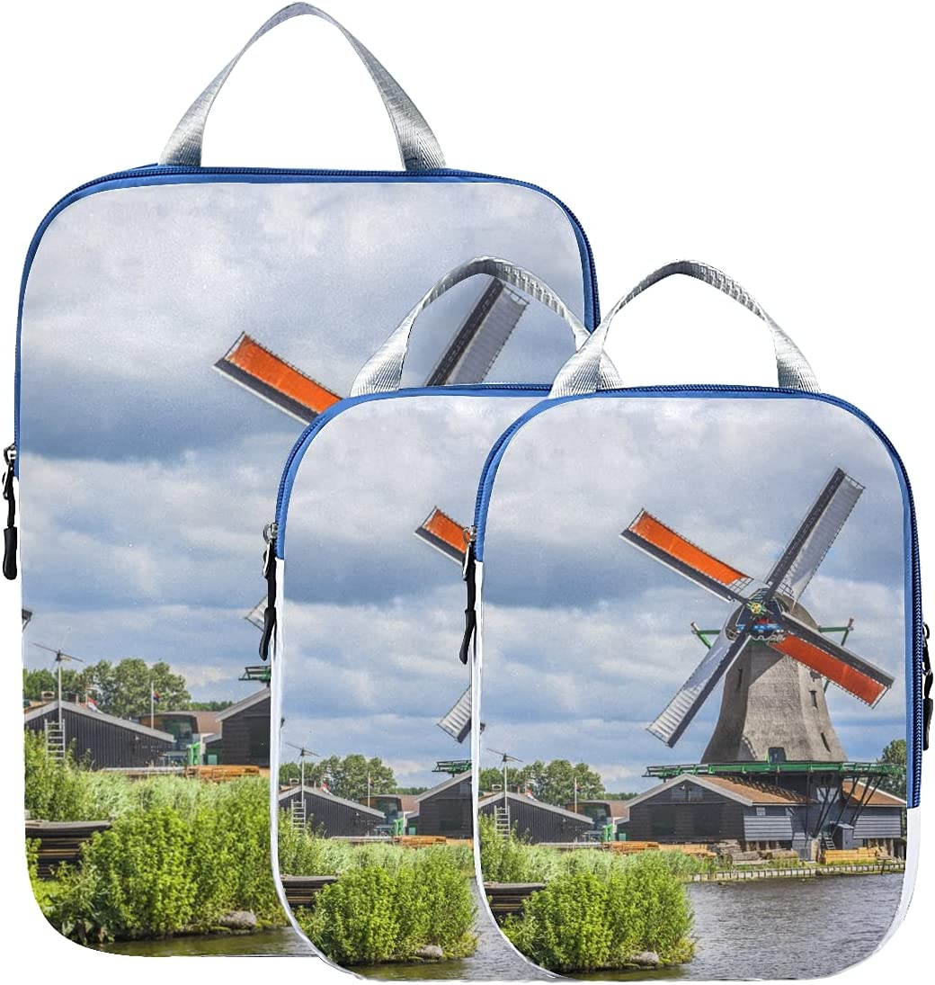 Packing Cubes For Travel Dutch Canal C San Antonio Mall Windmills Some reservation A Along
