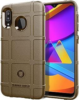 Samsung Galaxy M10S Case Cover Shell,Carbon fiber material Case,Smooth Non-slip soft,Anti-fingerprint case,Fully Protectiv...