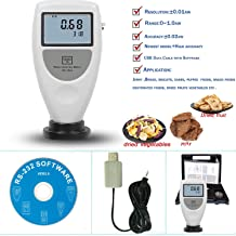 VTSYIQI Water Activity Meter Tester Analyzer Tools WA-160A For Food Water Activity Meters Monitor 0 to 1.0AW Accuracy 0.02aw USB Data Cable with Software LCD Digital Display