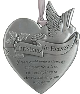 Carsons Home - Engraved Ornament - Christmas in Heaven