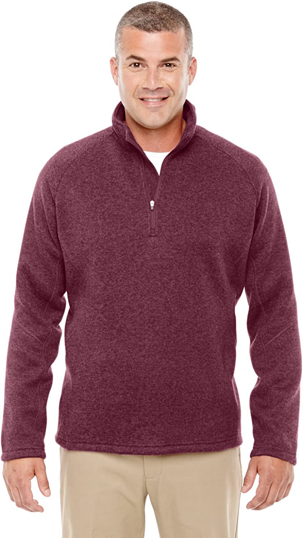 Devon & Jones Mens Bristol Half Zip Fleece Sweaters