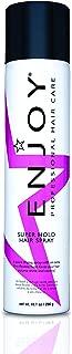 ENJOY Super Hold Hair Spray (10.1 OZ) – Extra Strong Hold Hair Spray to Keep Hair Radiant