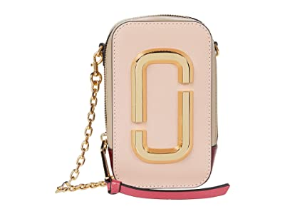 Marc Jacobs The Hot Shot Shoulder Bag (Rose Multi) Shoulder Handbags