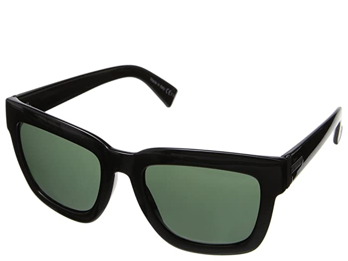 VonZipper Juice (Black/Vintage Grey) Sport Sunglasses